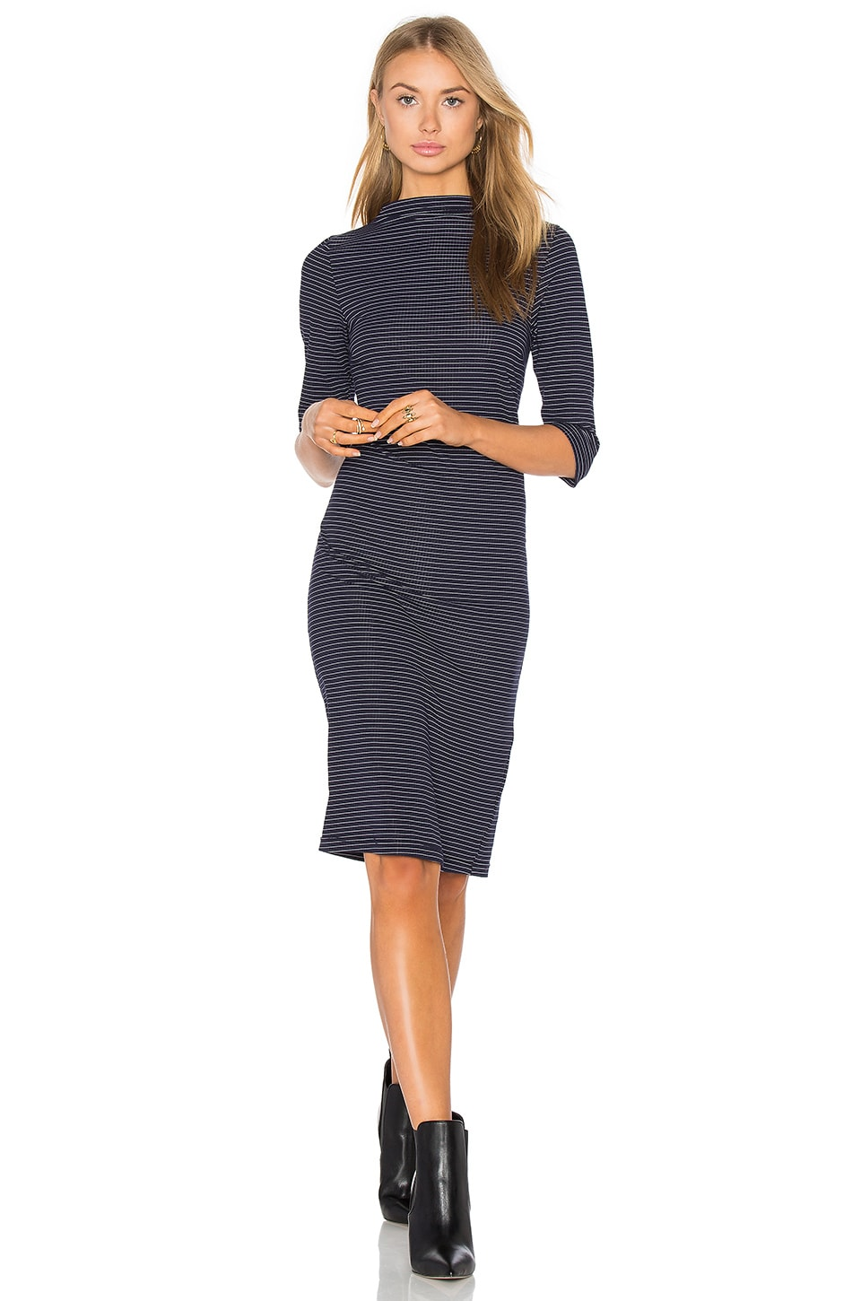 Webster Funnel Neck Dress by PFEIFFER