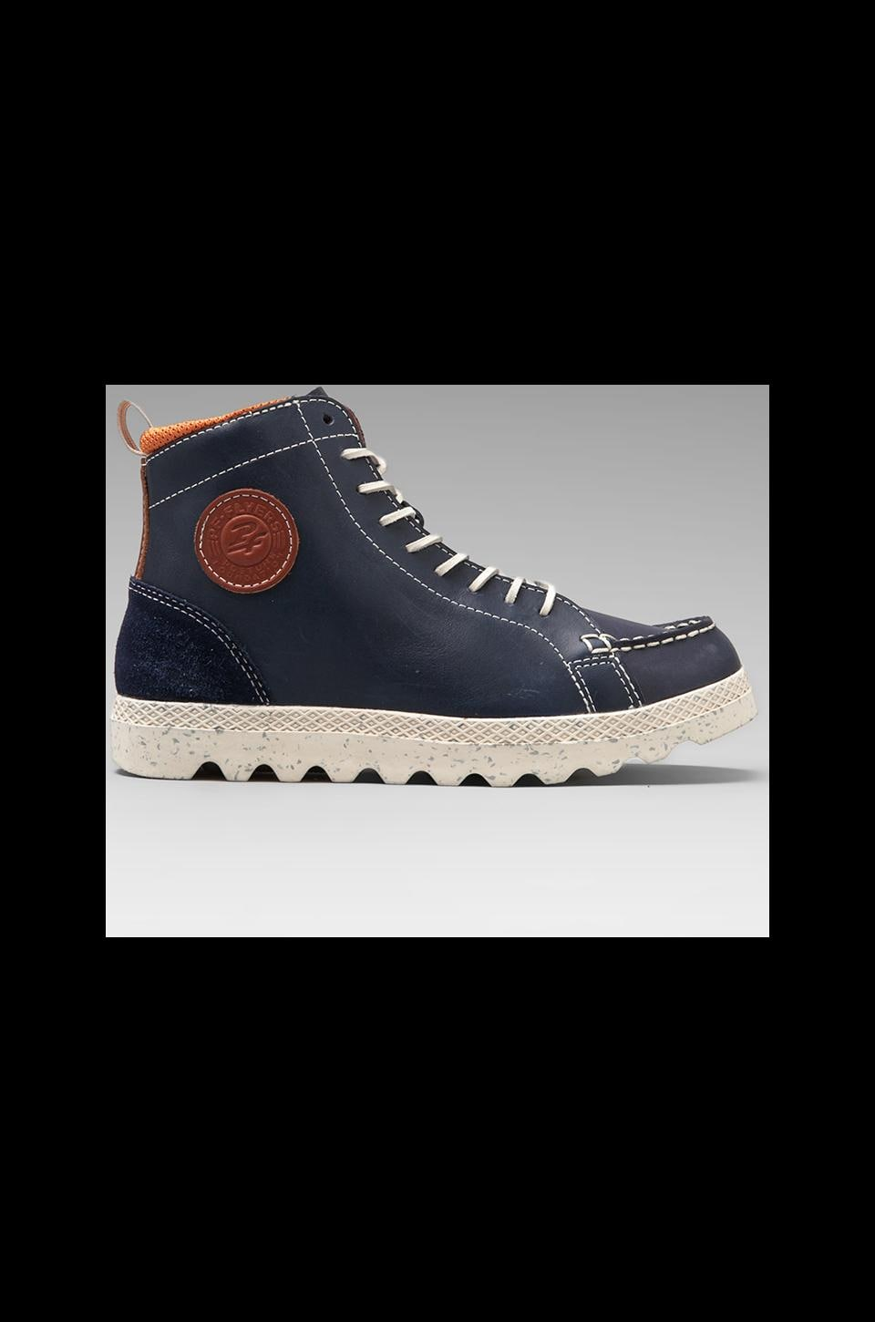 PF Flyers Brewster Boot in Navy