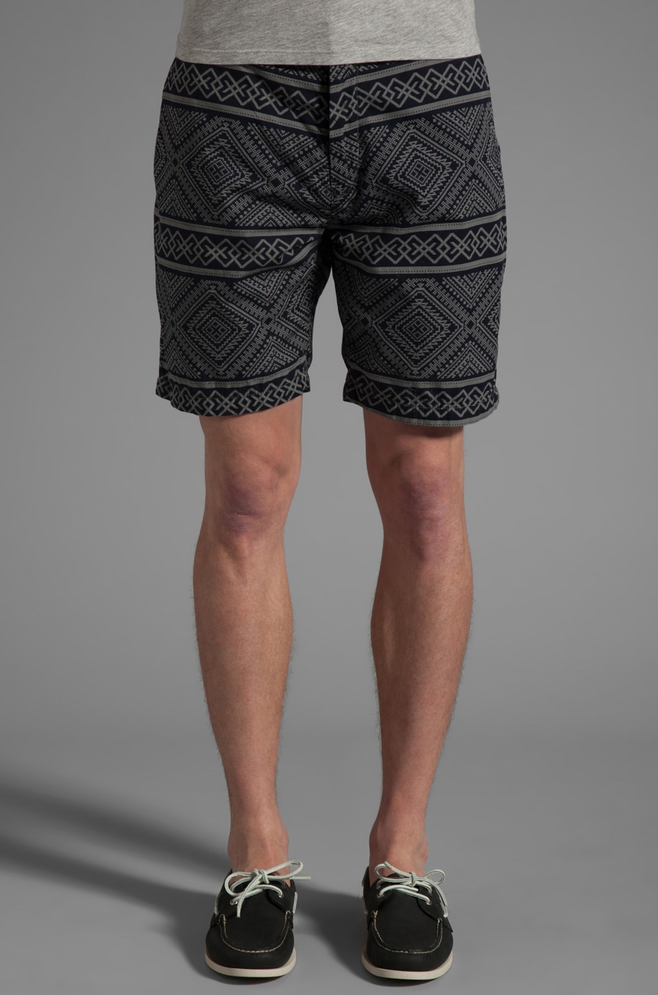PRPS Goods & Co. Aztec Short in Blue