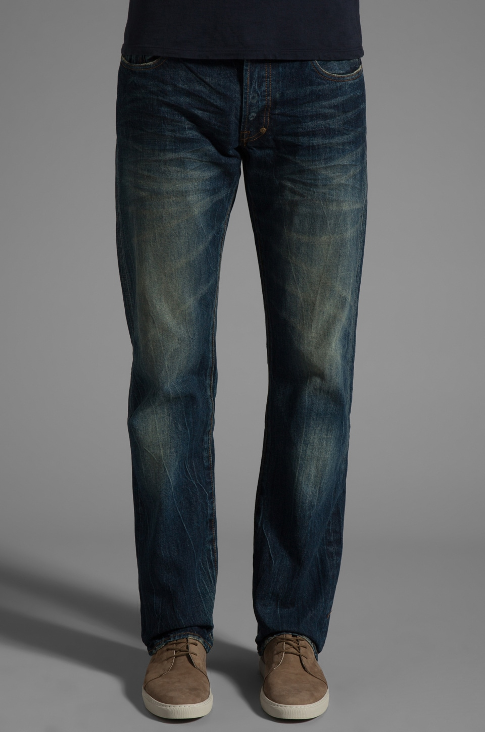 PRPS Goods & Co. Men's Woven Denim Jean in One Year Wash