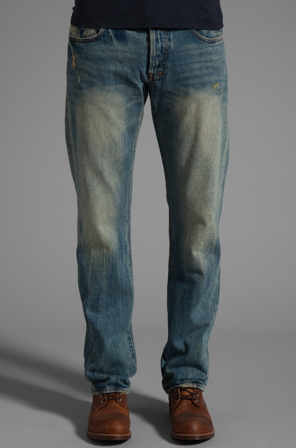 PRPS Goods & Co. Men's Woven Denim in 5 Year Wash