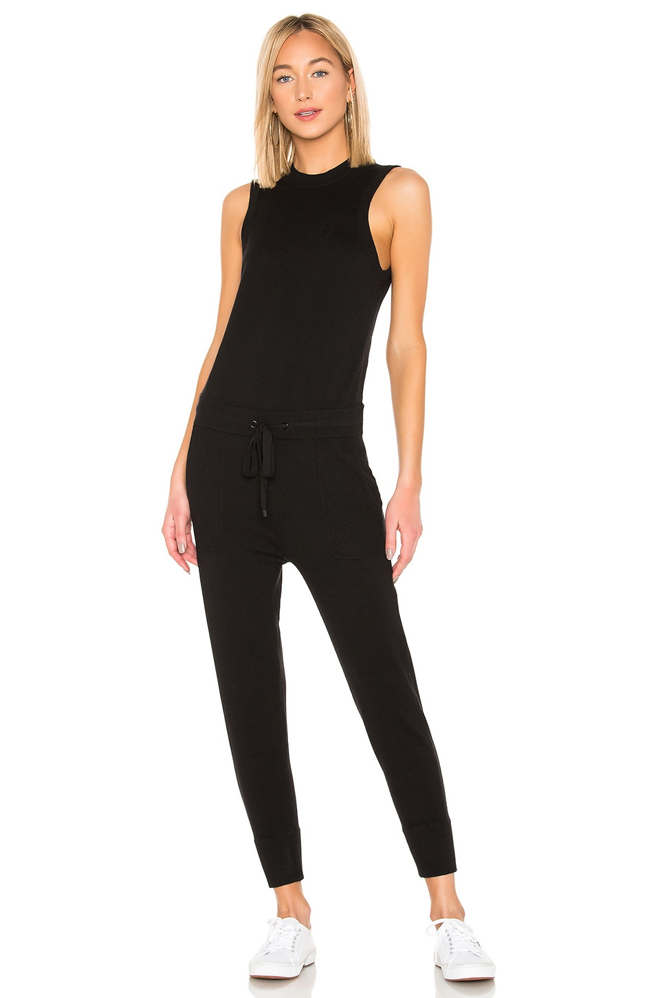 n:philanthropy Nellie Jumpsuit in Black Cat