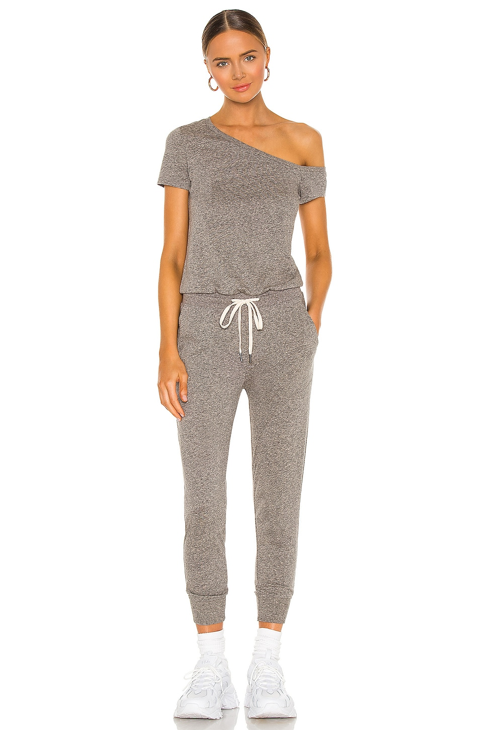 n:philanthropy Britton Jumpsuit in Heather Grey