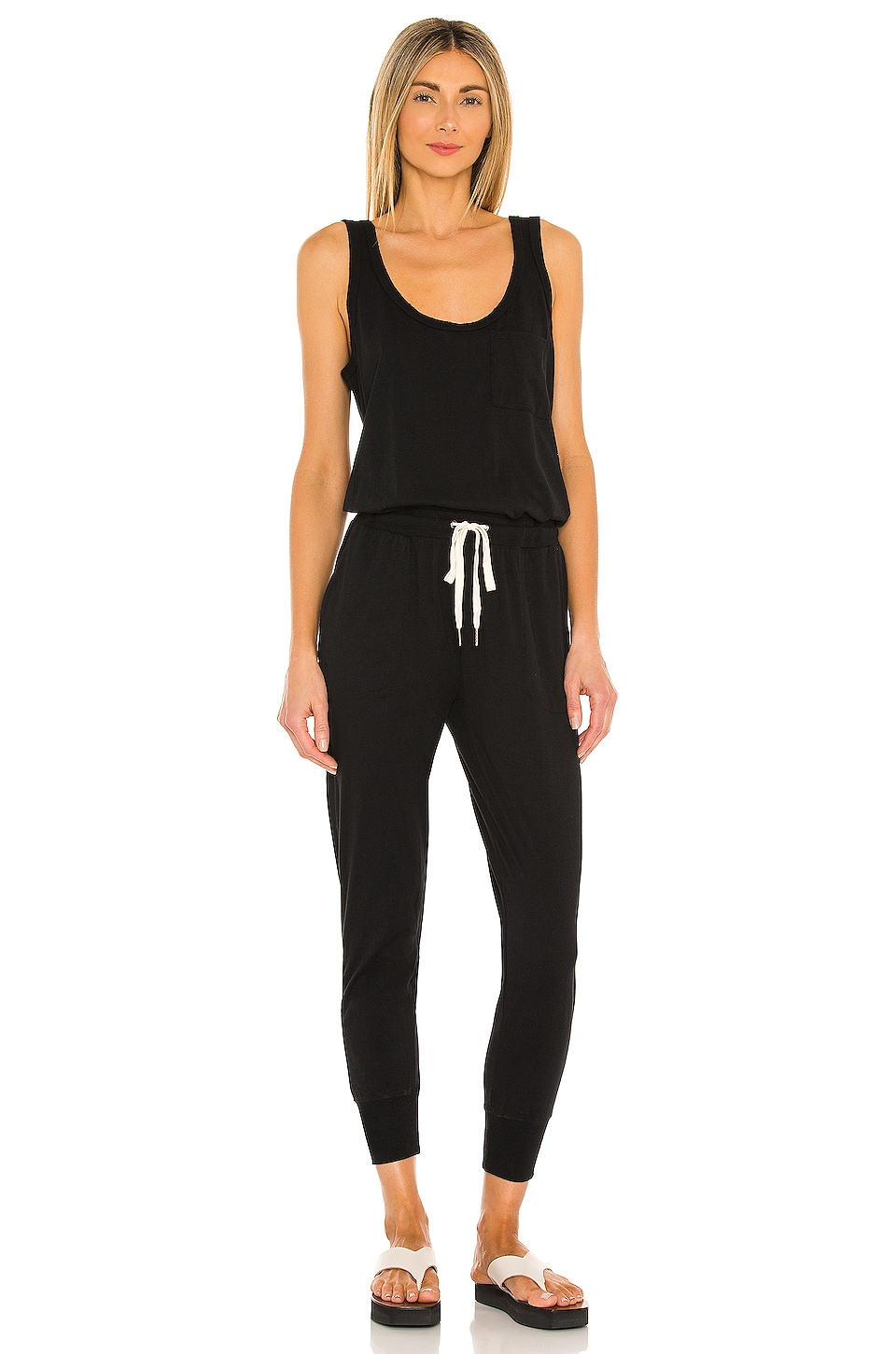 n:philanthropy Opal Jumpsuit in Black Cat