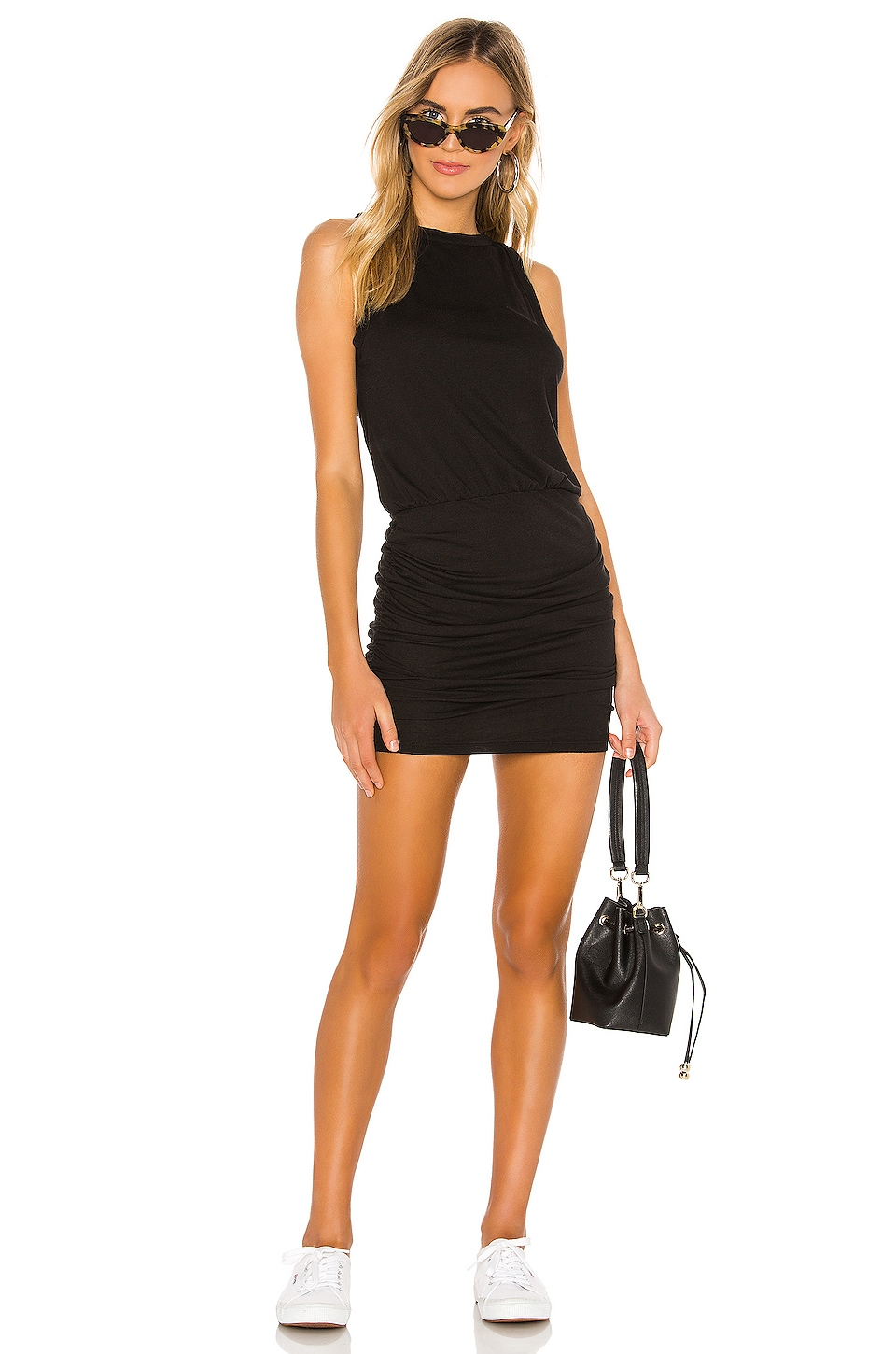 N:philanthropy Dresses N:PHILANTHROPY MAJORCA DRESS IN BLACK.