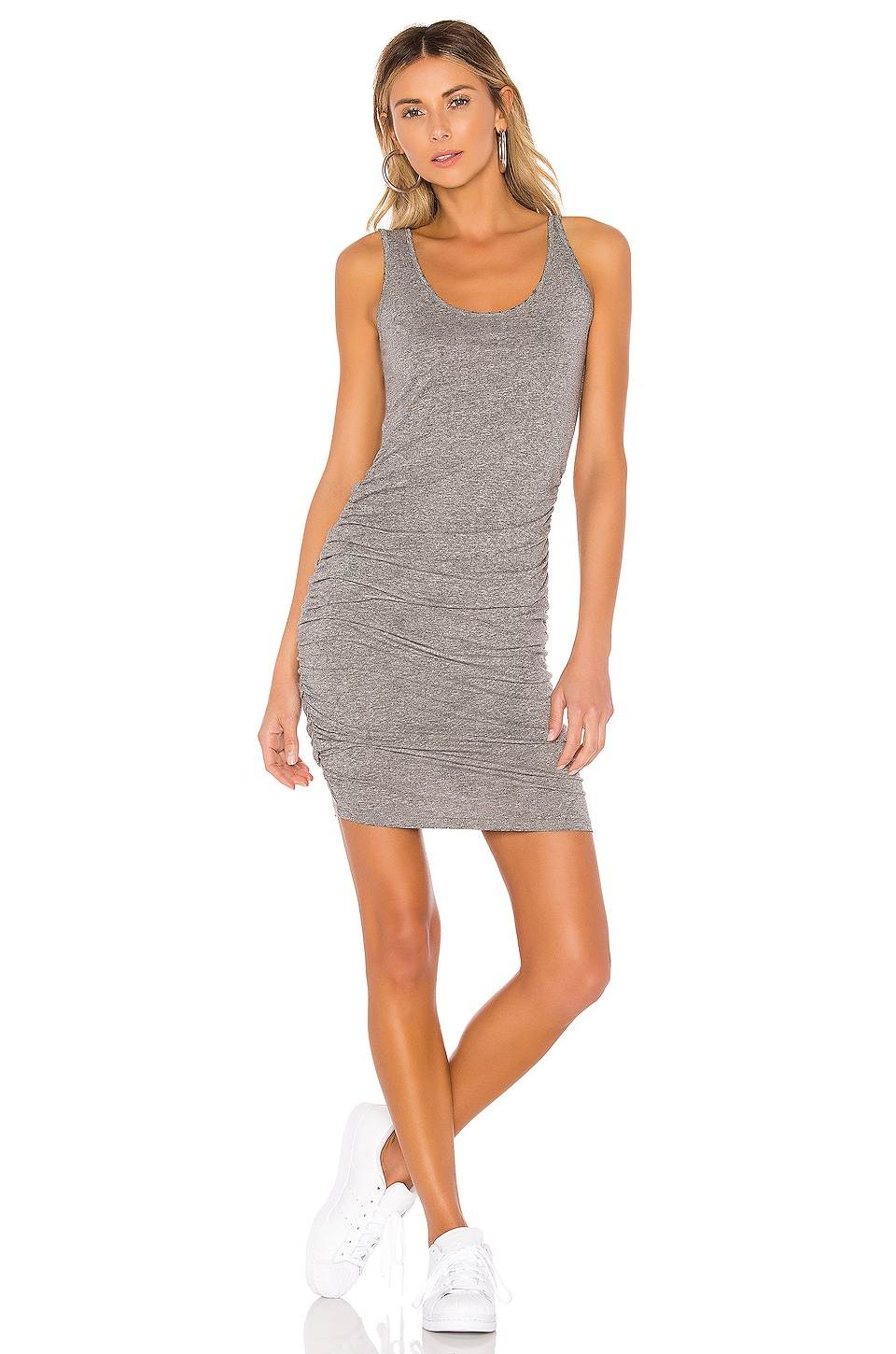 n:philanthropy Echo Dress in Heather Grey