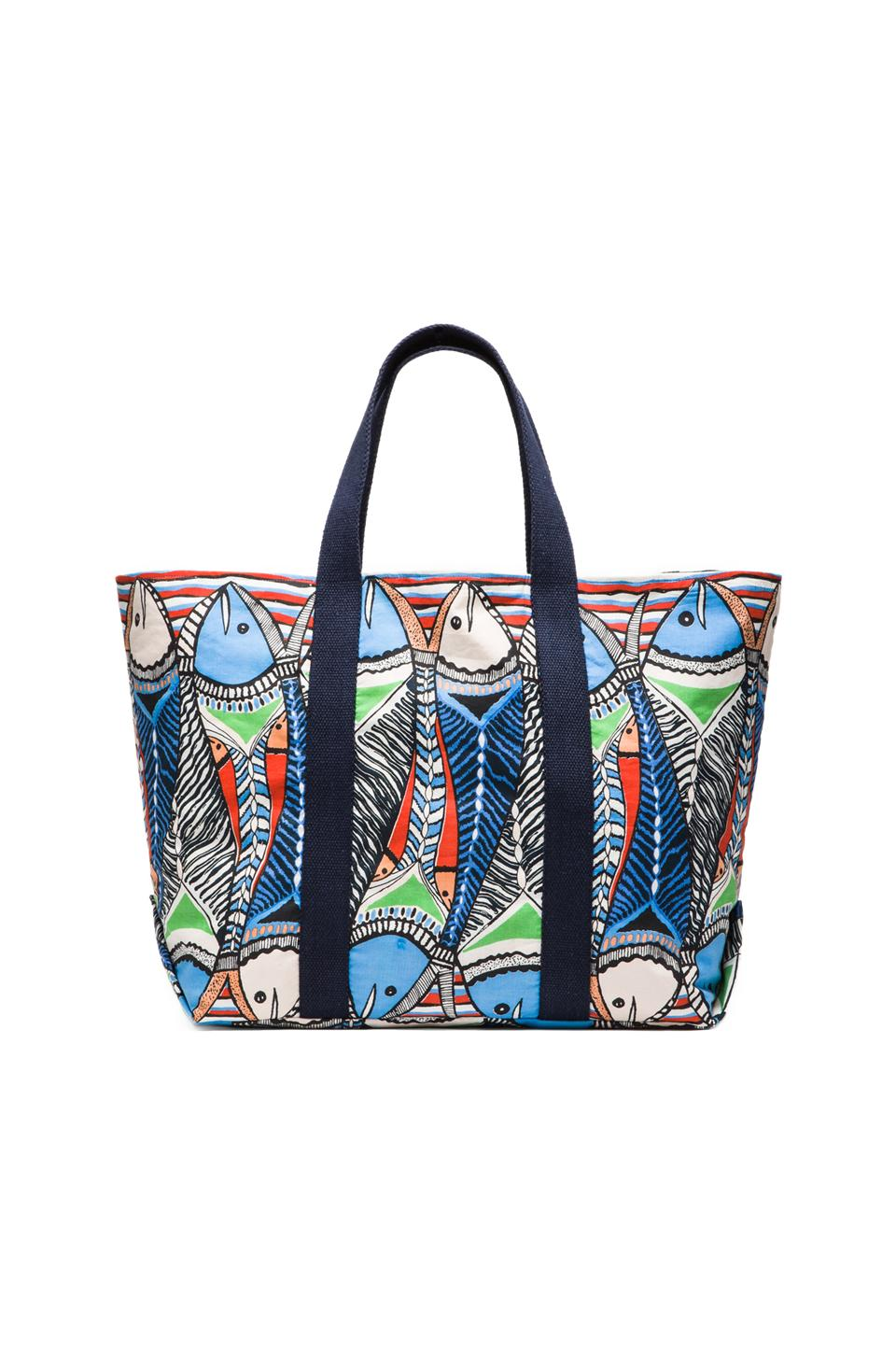 Pia Pauro Big Fish Bag in Blue
