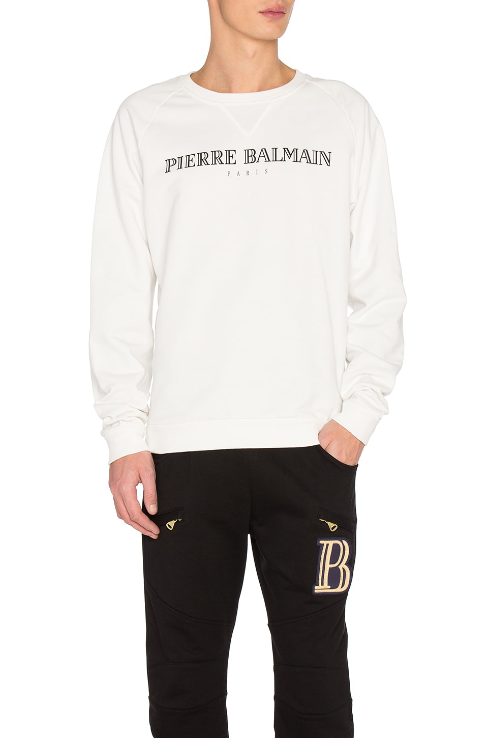 Sweatshirt by Pierre Balmain