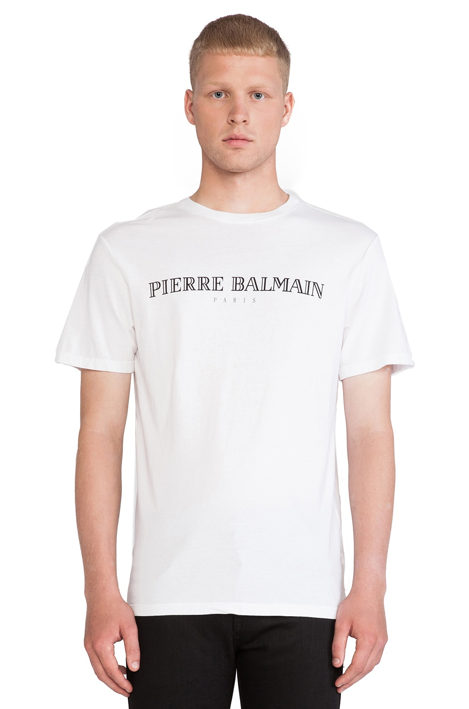 Pierre Balmain Tee in White