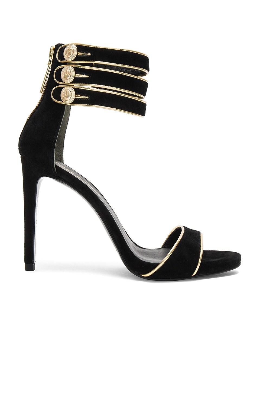 Pierre Balmain Strappy Heel in Black