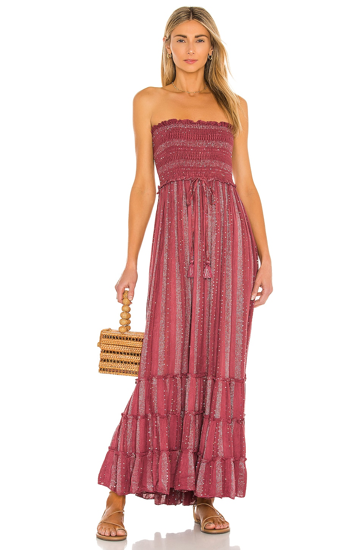 PQ Charlotte Dress in Garnet