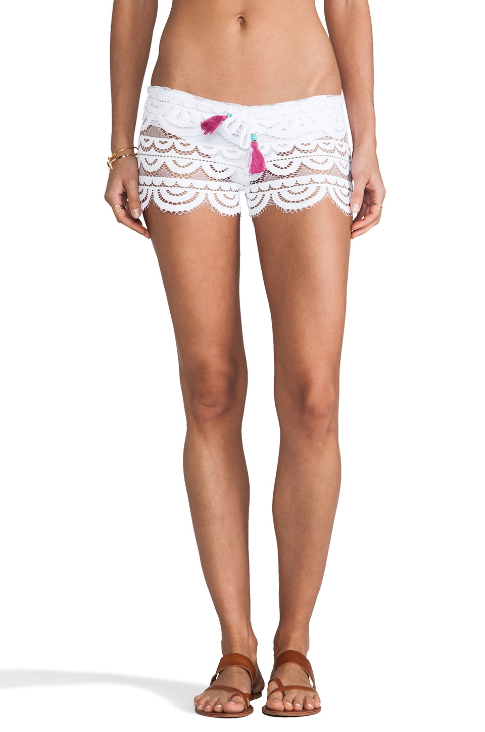 PILYQ Lexi Short in Bahama White