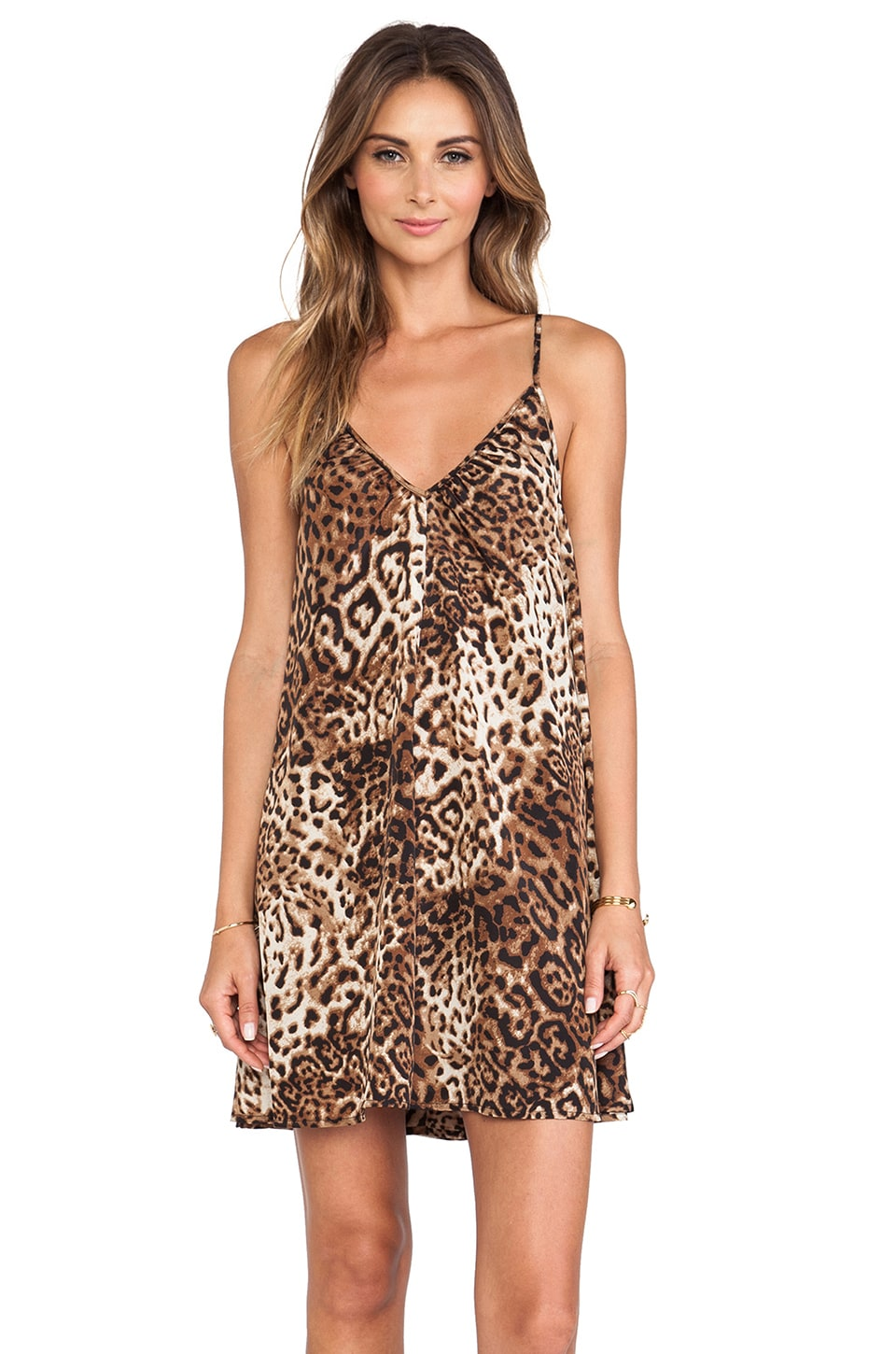 Pink Stitch xREVOLVE Resort Mini in Leopard
