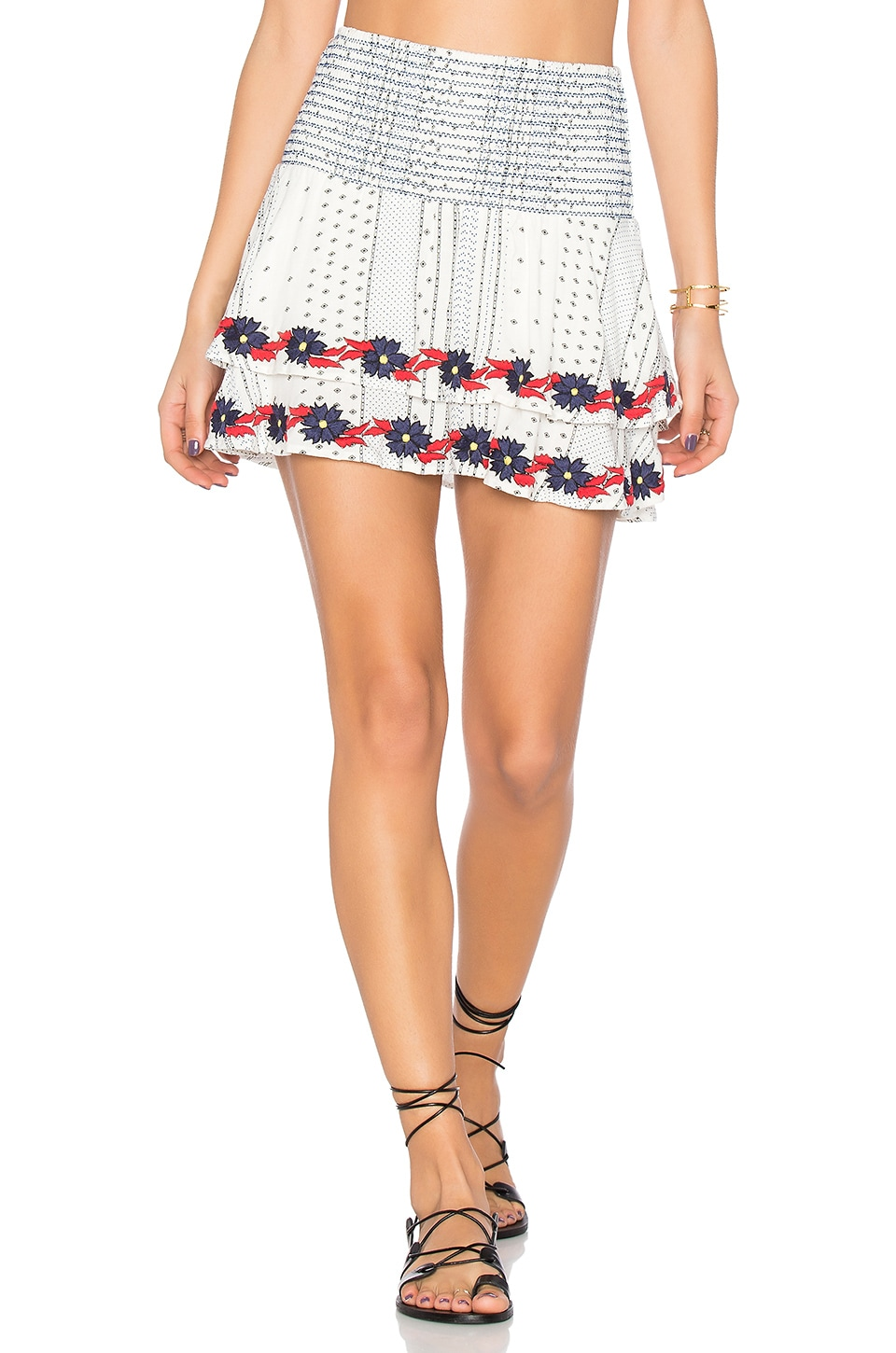 PIPER Margo Skirt in White