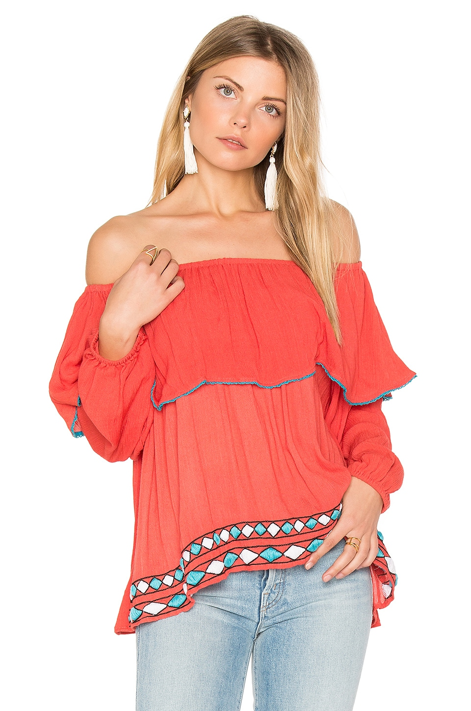 Bondi Off The Shoulder Top by PIPER