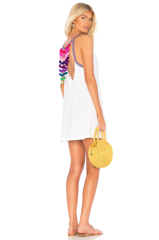 Pom Pom Falls Dress