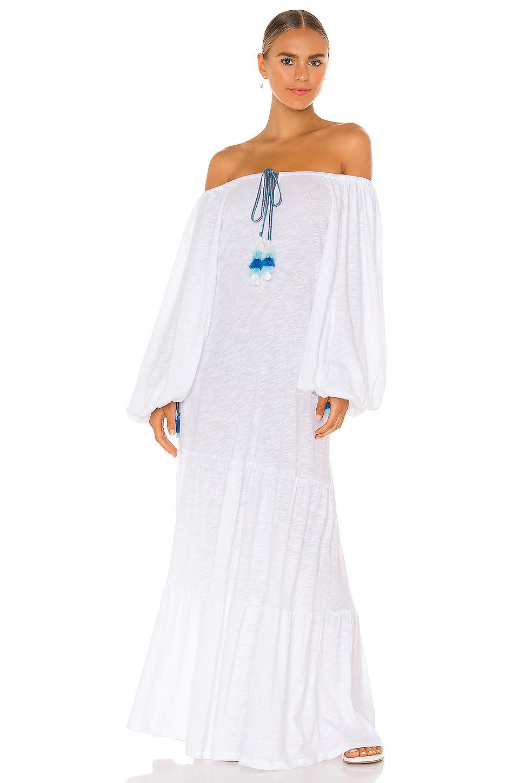 Pitusa Pima Pea Dress in White