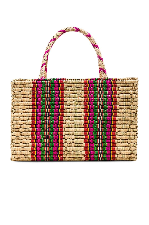 Straw Picnic Bag
