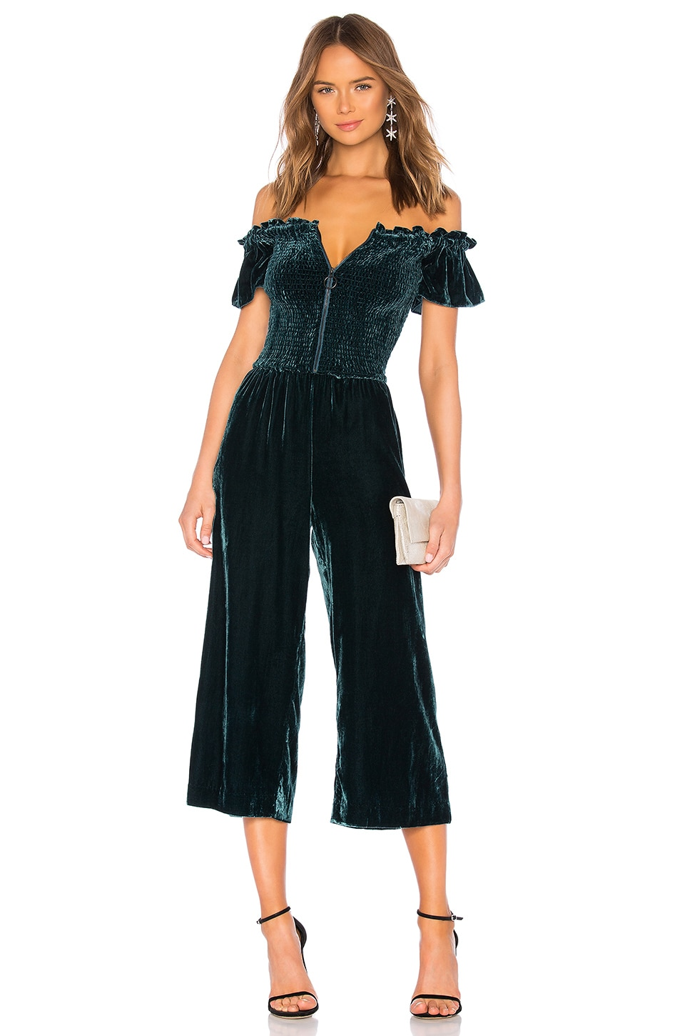 Parker Londyn Jumpsuit in Everglade