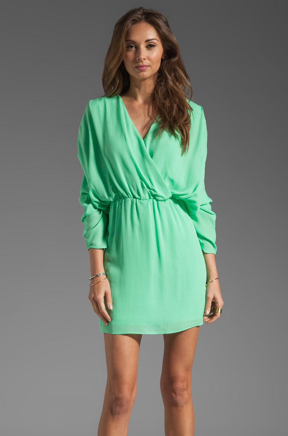Parker Bella Dress in Spearmint