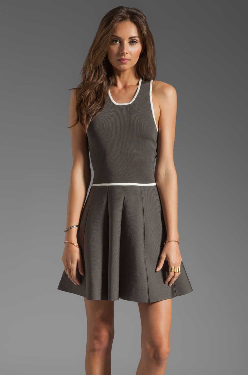 Parker Darla Knit Dress in Dusk Combo