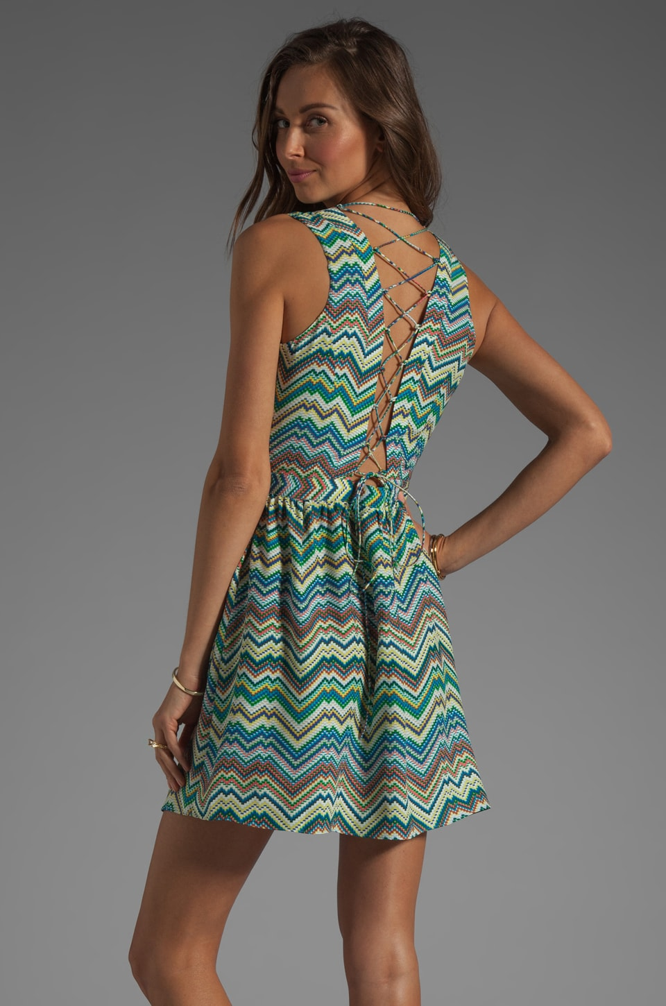 Parker Ancho Dress in Pixel