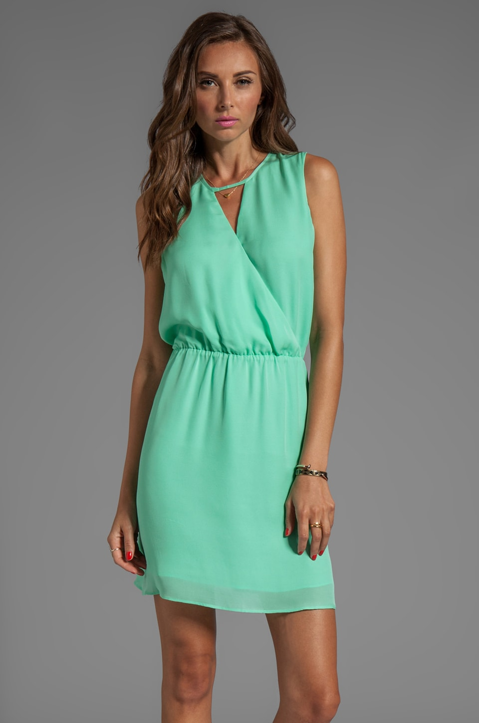 Parker Suri Dress in Honeydew