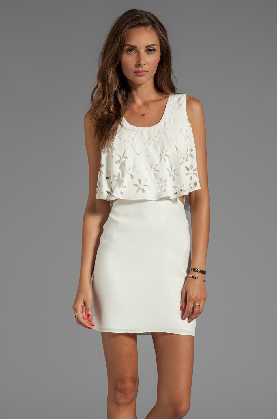 Parker Gwenn Dress in Ivory