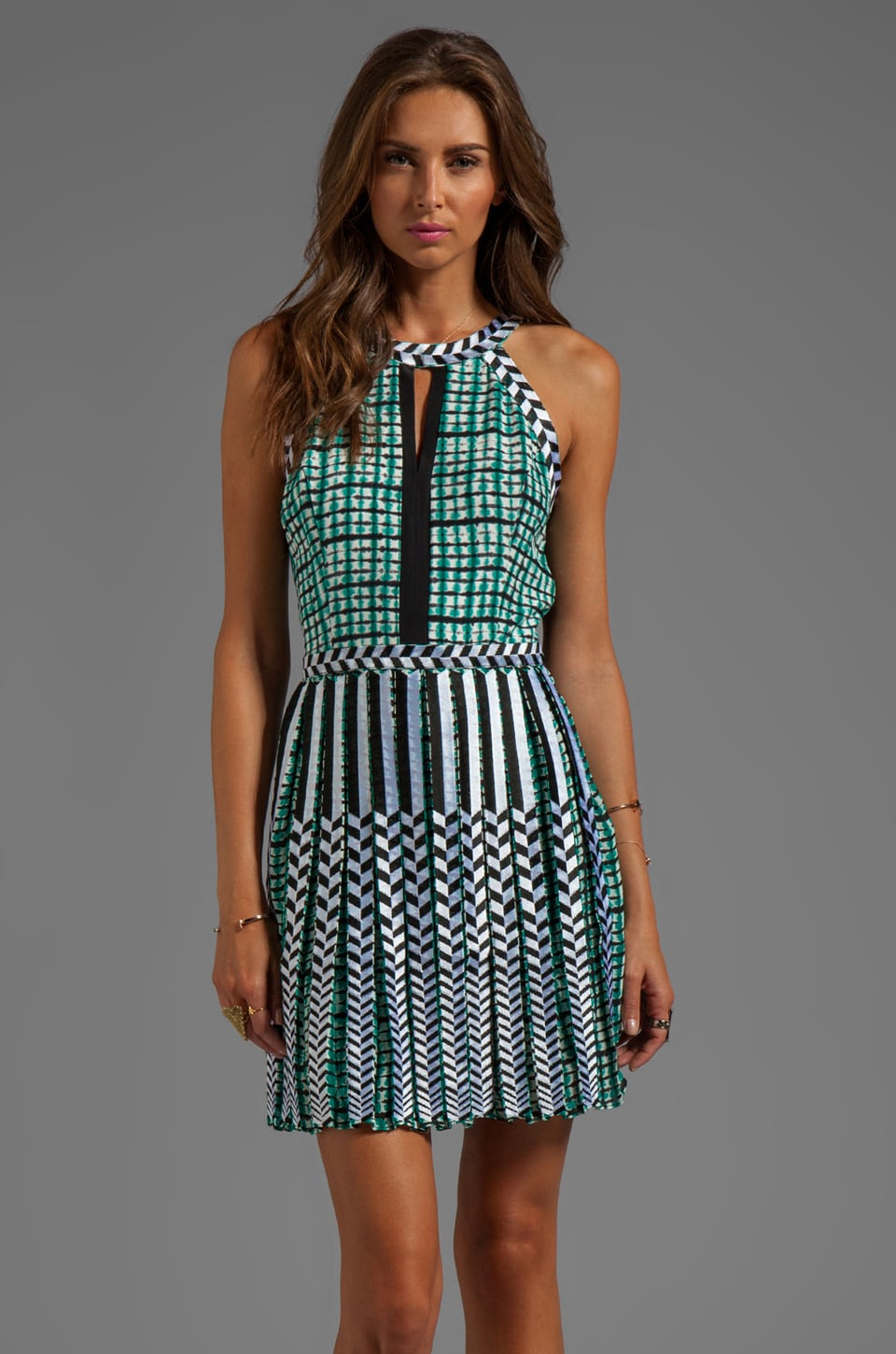 Parker Selita Dress in Plaid Tye