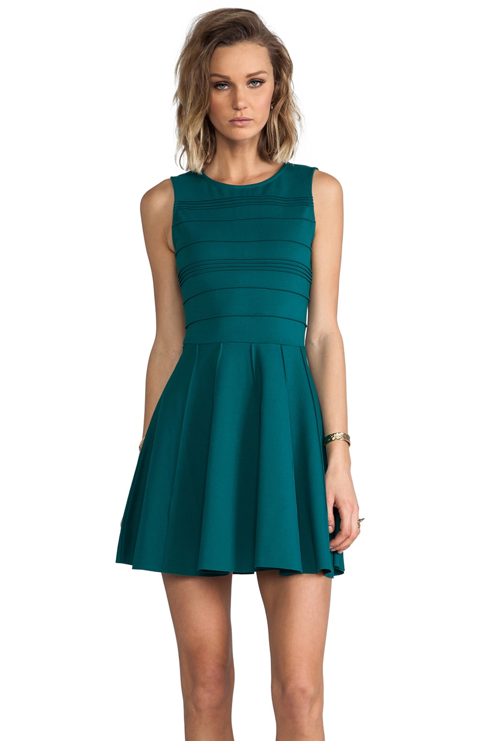 Parker Lacey Dress in Alpine