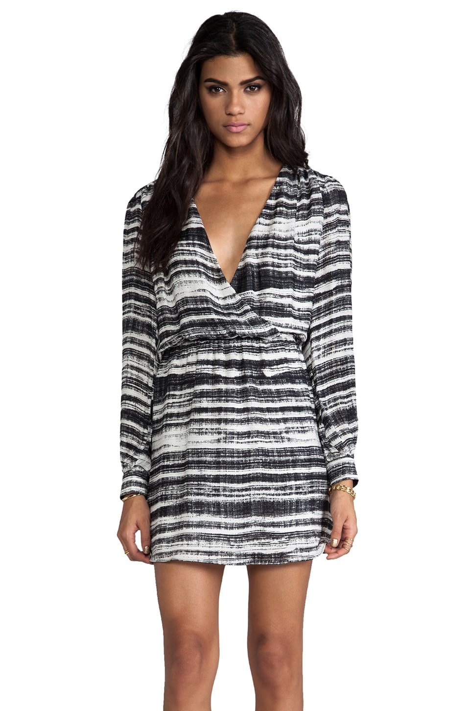 Parker Lila Wrap Dress in Industrial