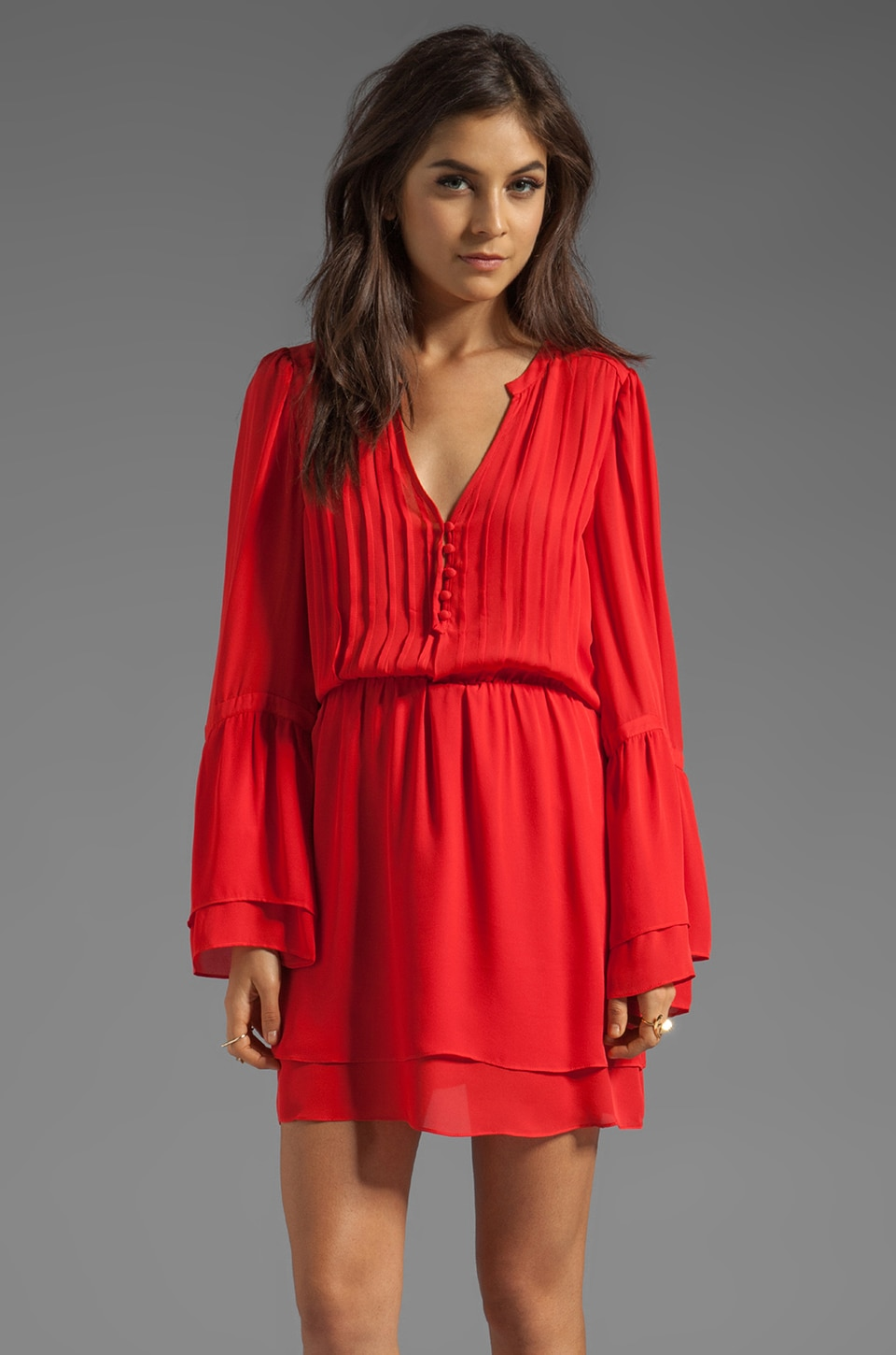 Parker Risa Dress in Tomato