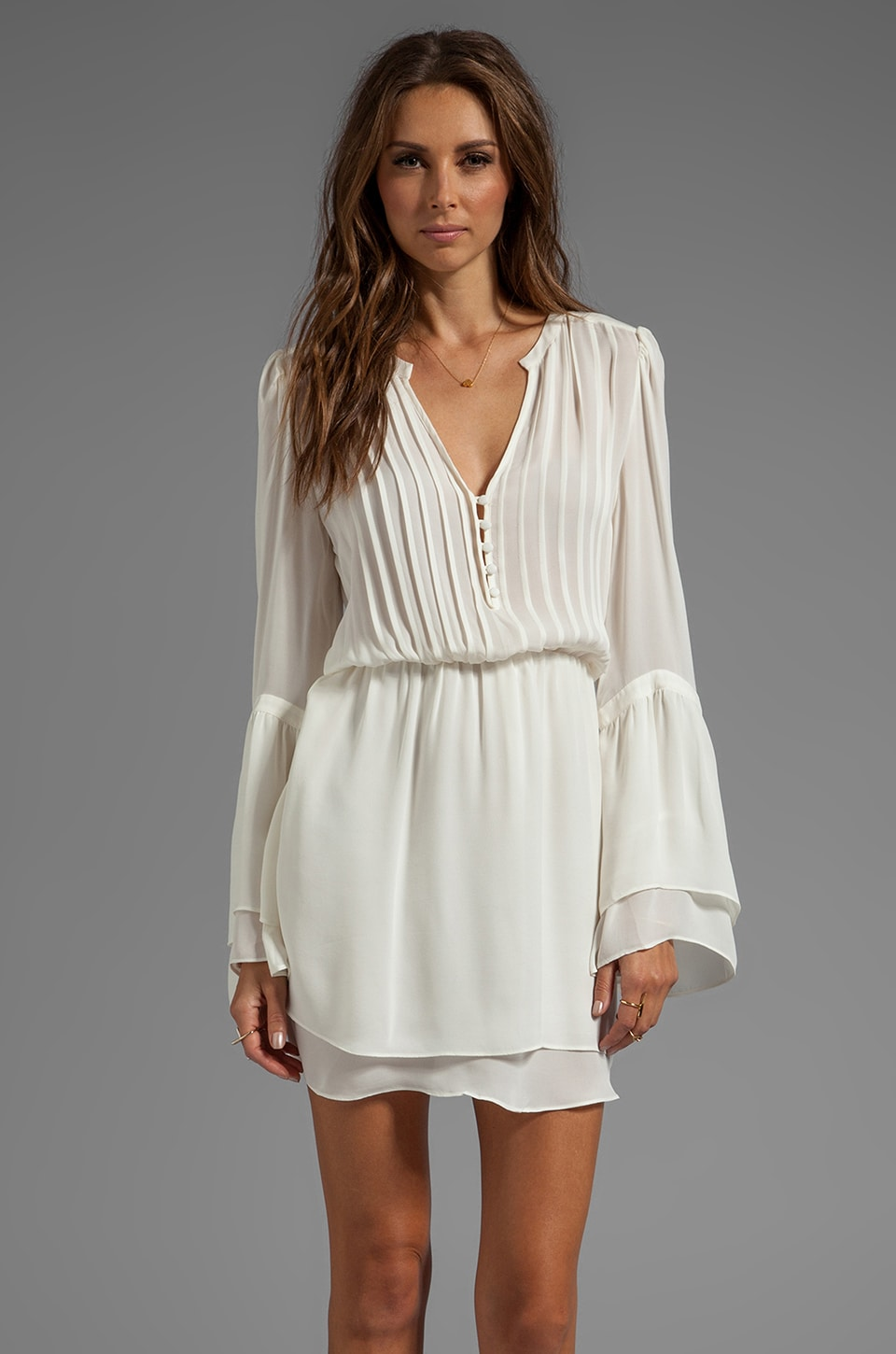 Parker Risa Dress in Creme