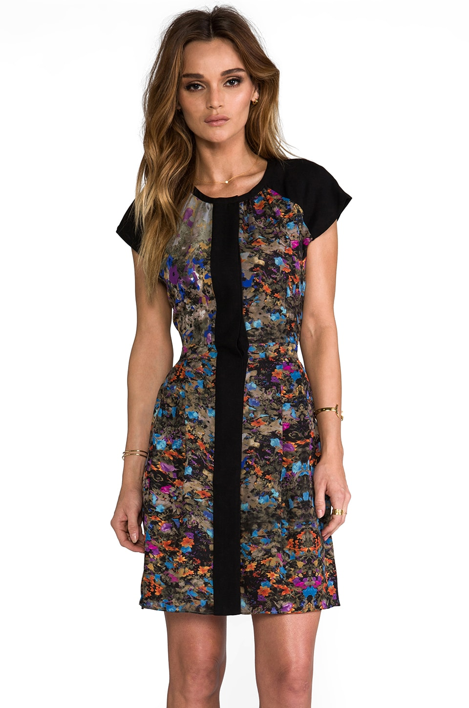 Parker Veronica Floral Dress in Enchanted