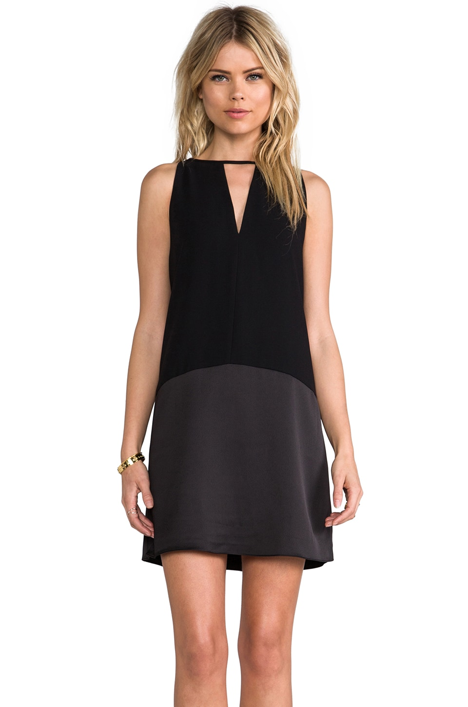 Parker Stacey Dress in Black