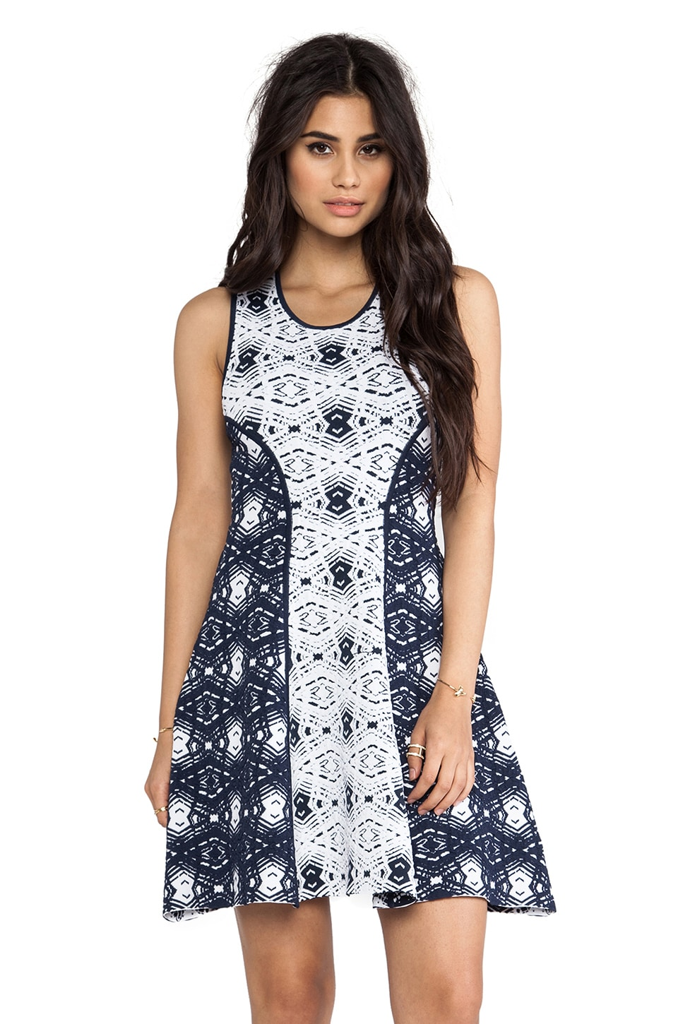Parker Naima Dress in Navy