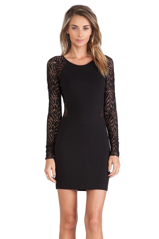 Parker Naomi Dress in Black