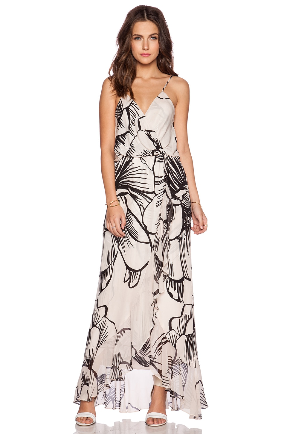 Parker Halle Combo Maxi Dress in Fauna | REVOLVE