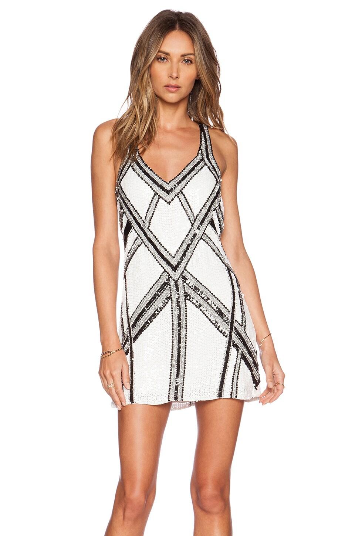 Parker Benny Sequin Dress in White | REVOLVE