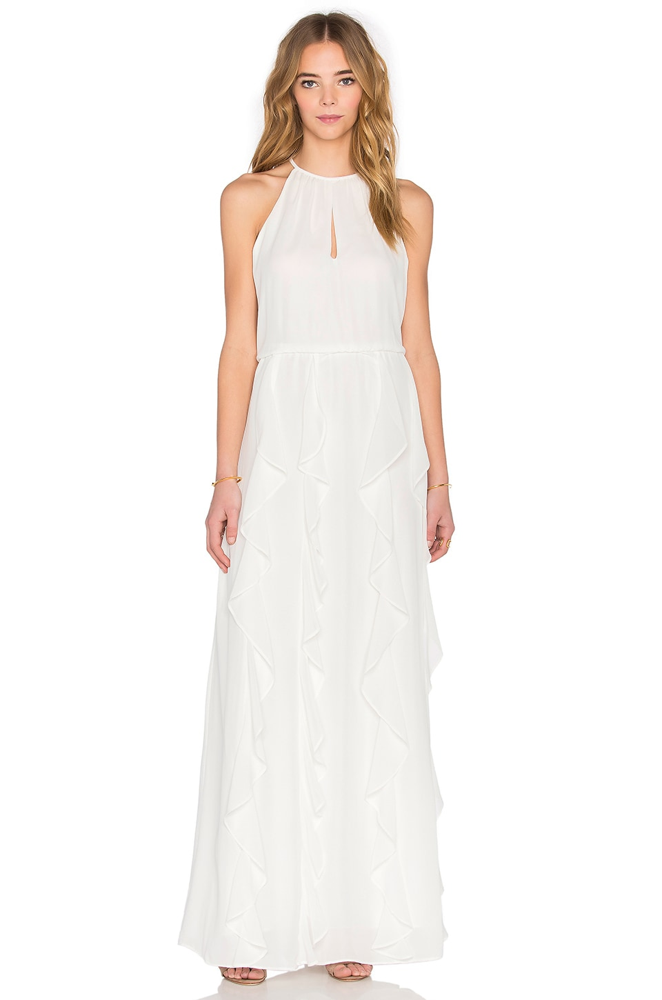 Parker Farall Maxi Dress in Ivory | REVOLVE