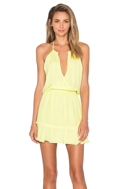 Parker Nathan Dress in Limeade
