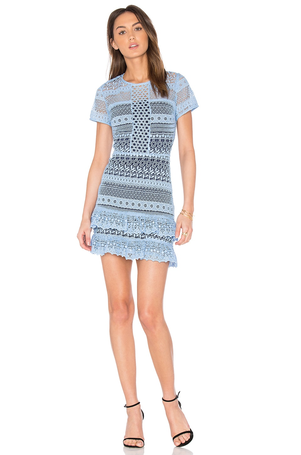 Parker Darcy Dress in Powder Blue