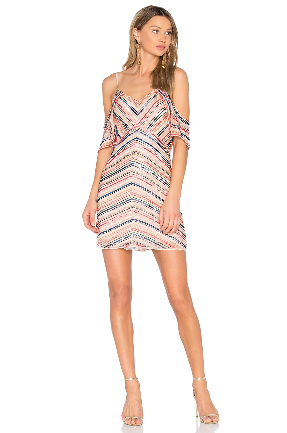 Parker Jerry Dress in Multi