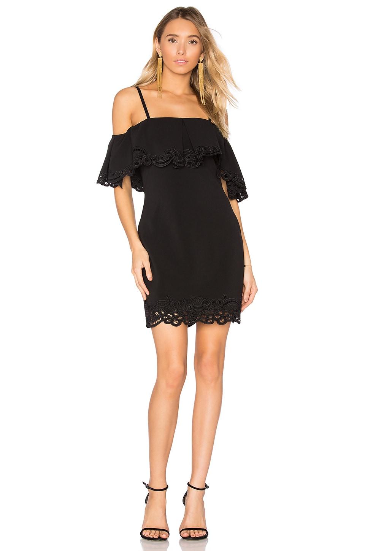 Parker Arline Dress in Black
