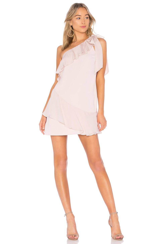 Parker Eden Dress in Pearl Blush