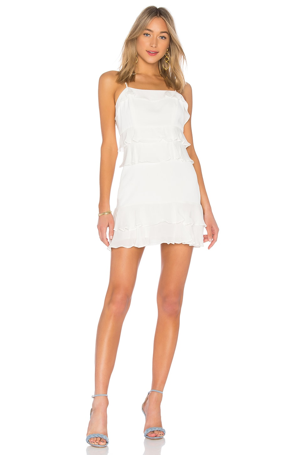 Parker Kristie Dress in Pearl