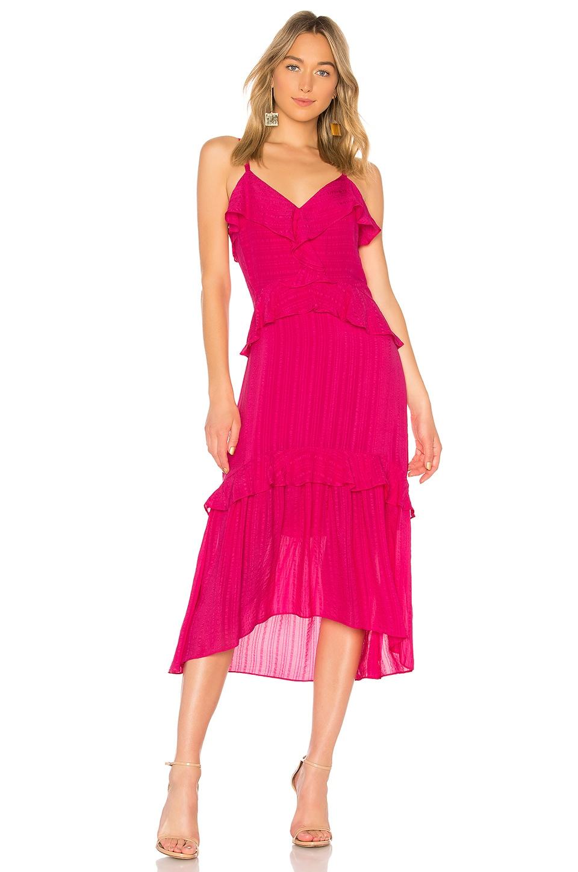 Parker Josie Dress in Bright Rose