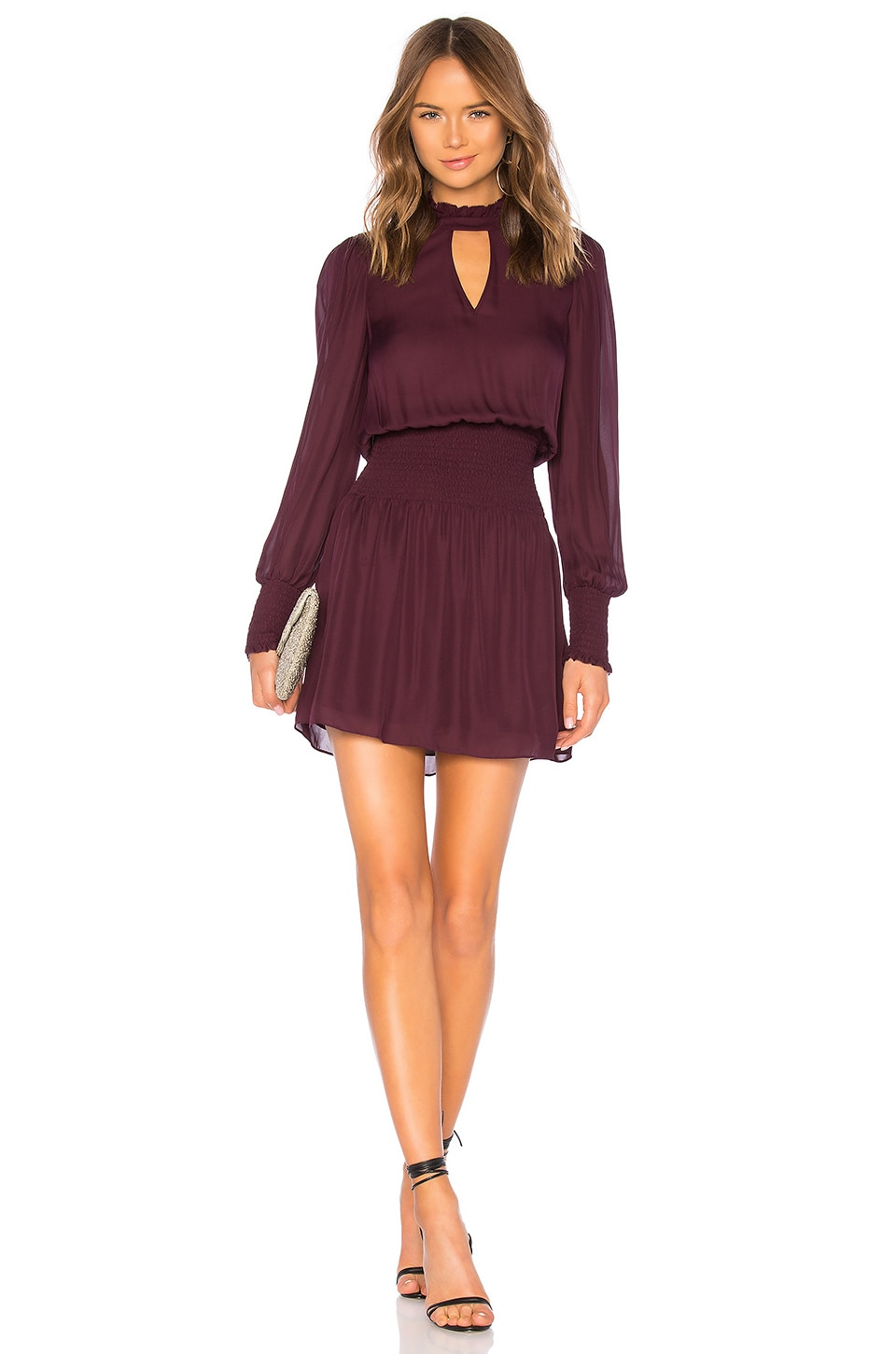 Parker Robyn Dress in Cordovan
