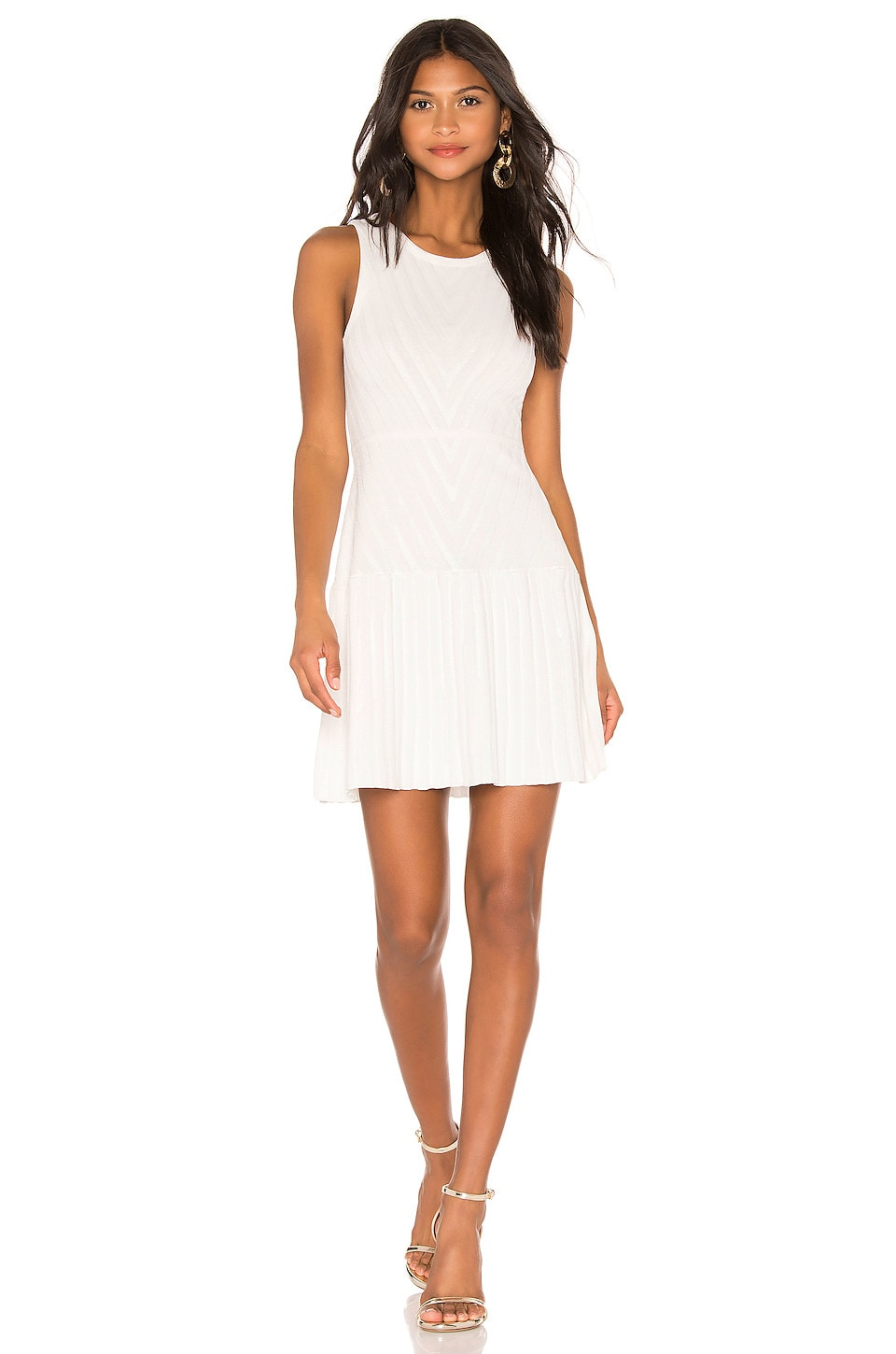 Parker Mabel Knit Dress in Ivory