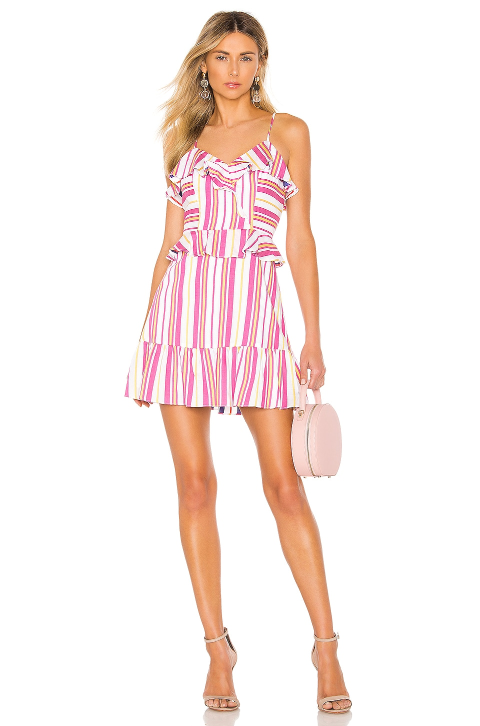 Parker Isadora Dress in Poolside Stripe